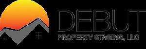 Debut Property Staging LLC Long Logo