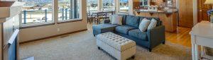 Debut Property Staging LLC Kitchen & Living Room