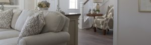 Debut Property Staging LLC Couch & Stairs
