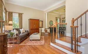 Debut Property Staging LLC Wooden Staircase