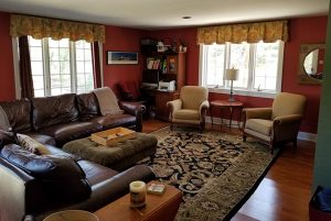 Debut Property Staging LLC RedWalls Staged Living Room