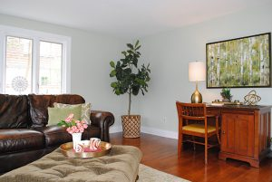 Debut Property Staging LLC Couch & Desk
