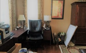 Debut Property Staging LLC Desk Area & Printer