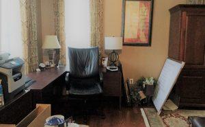 Debut Property Staging LLC Desk Area & Printer